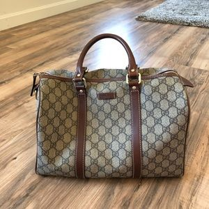 Gucci Joy Boston Bag - Beige/Ebony